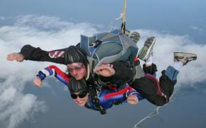 Tandem Jump over Gimli at Skydive Manitoba!
